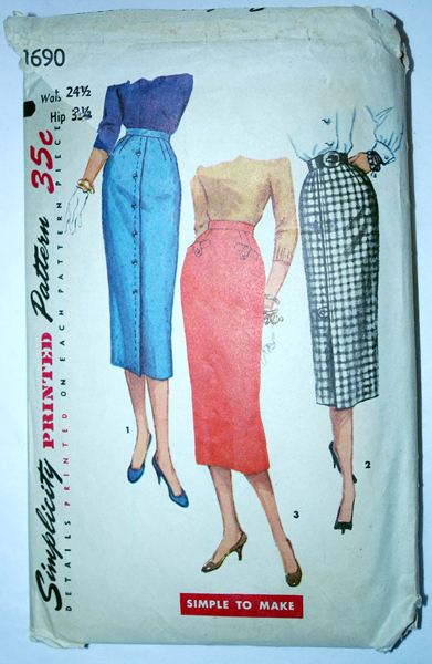 high waisted skirt sewing pattern free real