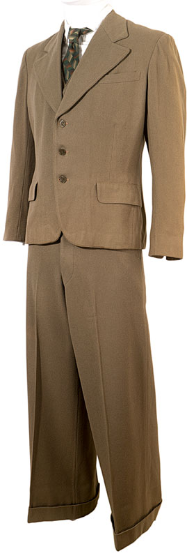 1930s 3 pc Hollywood costume Suit