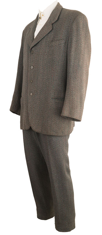 1930s Tweed Suit Made for Hollywood Film Set in 1920s.