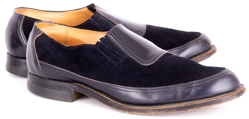 1950s Blue Suede Shoes
