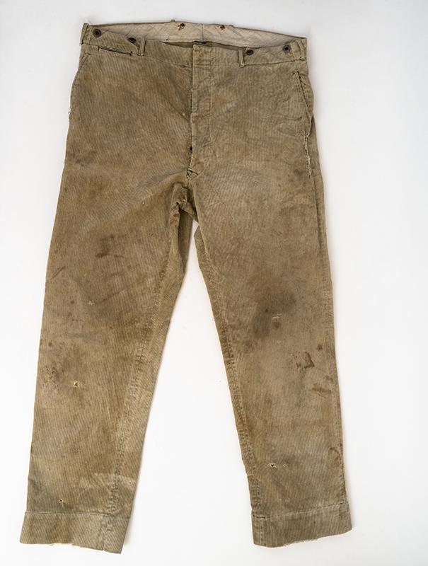 1920s Corduroy Work Pants Ballyhoovintage Com