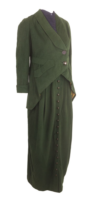 C 1910 Walking Suit With Hobble Skirt Ballyhoovintage Com