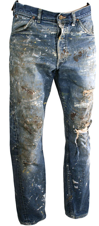 1960s Lee Destroyed Jeans