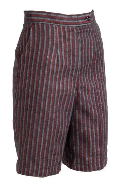 Knee Scooter For Sale >> Wonderful Striped Flannel Jamaica Shorts: Ballyhoovintage.com