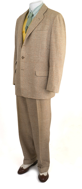 1950s Men's Tweed Suit