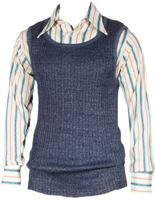 1970s Rib Knit Tank Top Ballyhoovintage Com